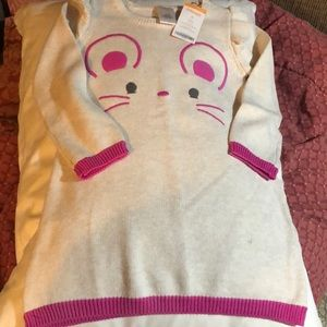 Gymboree Mouse Sweater Dress